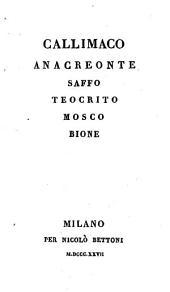 Jnni tradotti dal cavaliere Dionigi Strocchi
