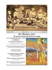NBS#12 **Sri Bhishma-Stuti: A Prayer from the bed of arrows**: NBS Mag