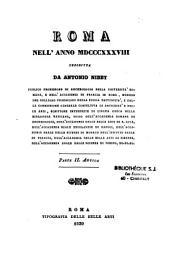 Roma nell'anno 1838