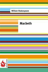 Macbeth (low cost). Edición limitada