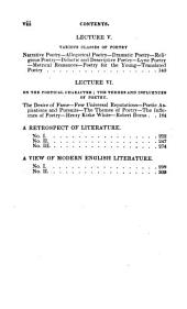 Lectures on General Literature, Poetry, &c., Delivered at the Royal Institution in 1830 and 1831