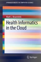 Health Informatics in the Cloud PDF