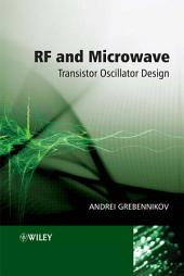 RF and Microwave Transistor Oscillator Design