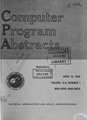 Computer Program Abstracts PDF