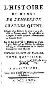 Histoire du regne de Charles-Quint