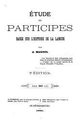 Étude des participes, basée sur l'histoire de la lengua