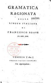 Grammatica ragionata della lingua italiana
