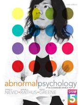 Abnormal Psychology in a Changing World: Edition 9