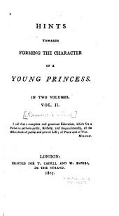 Hints Towards Forming the Character of a Young Princess ...