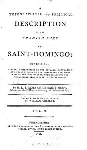 A Topographical and Political Description of the Spanish Part of Saint Domingo PDF