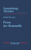 Prosa der Romantik PDF