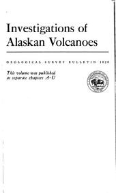 Geology of Pavlof Volcano and Vicinity, Alaska: Issue 1028