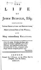 The Life of John Buncle  Esq PDF