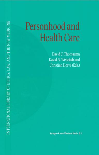 Download Personhood and Health Care Book
