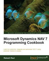 Microsoft Dynamics NAV 7 Programming Cookbook
