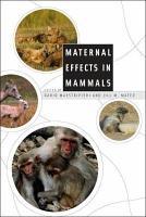 Maternal Effects in Mammals PDF