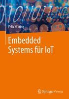 Embedded Systems f  r IoT PDF