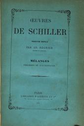 Œuvres de Schiller ...: Volume7