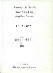 Supreme Court of the State of New York Appellate Division Third Department