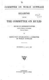 Committee on Woman Suffrage