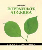Intermediate Algebra: Edition 9