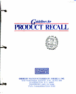 Guidelines for Product Recall PDF