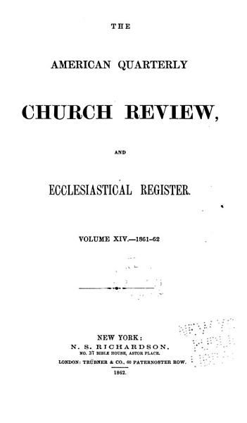 Download The Church Review Book