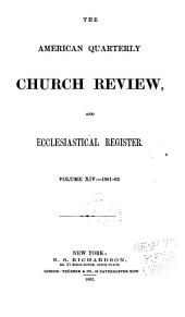 The Church Review: Volume 14