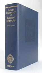 Oxford Dictionary of National Biography 2005-2008