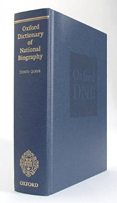 Oxford Dictionary of National Biography 2005 2008
