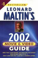 Download Leonard Maltin s Movie and Video Guide 2002 Book