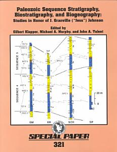 Paleozoic sequence stratigraphy  biostratigraphy  and biogeography PDF