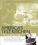 The America S Test Kitchen Cookbook