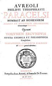 Opera omnia medico-chemico-chirurgica: Volume 2