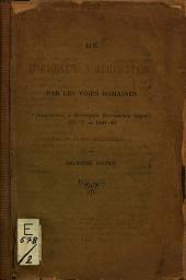 De Bordeaux à Jérusalem par les voies romaines: (Itinerarium a Burdigala Hierusalem usque) 333-37; 1884-89