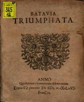 Batavia triumphata