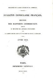 Bulletin consulaire français: Volume3