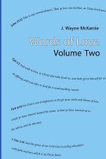 Words of Love Volume 2 HB