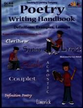 Poetry Writing Handbook (ENHANCED eBook): Definitions, Examples, Lessons