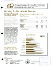 Housing profile: Atlanta, Georgia