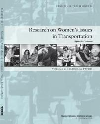 Research On Women S Issues In Transportation Report Of A Conference Book PDF