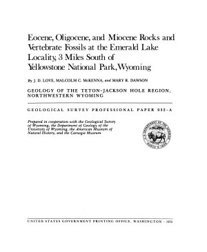 Geological Survey Professional Paper PDF