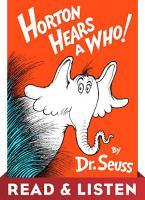 Horton Hears A Who  Read   Listen Edition PDF