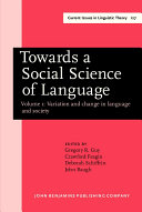 Language and Ideology  Theoretical cognitive approaches