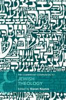 The Cambridge Companion to Jewish Theology PDF