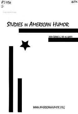Studies in American Humor PDF