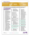 CPT Express Reference Coding Card 2022: Radiology