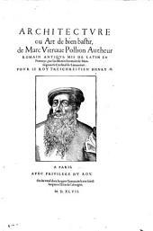 Architecture ou art de bien bastir: mis de latin en Francoys par Jan Martin