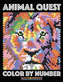 Animal Quest Color by Number PDF