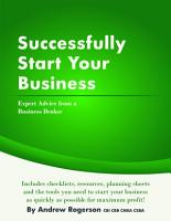 Successfully Start Your Business PDF